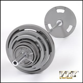 VTX Olympic 300lb Grip Weight Set